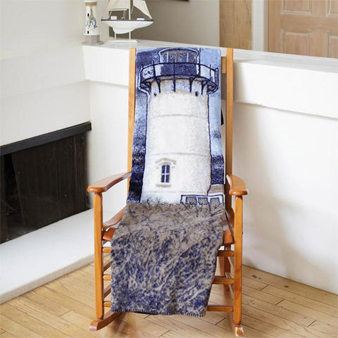 Lighthouse Denali Microplush™ Throw Blanket