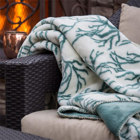 Coral Denali Microplush™ Throw Blanket
