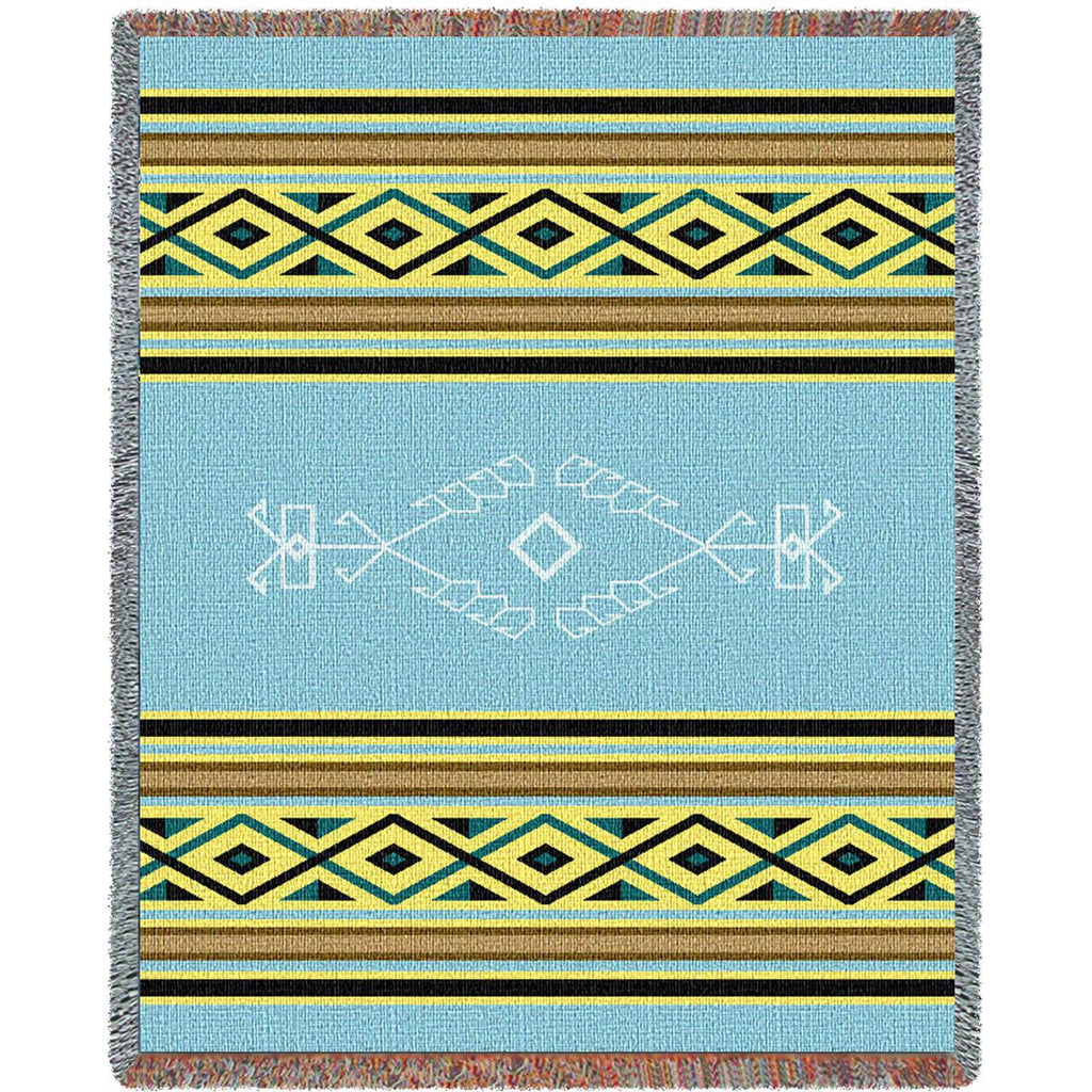 Desert Rain Woven Throw Blanket -