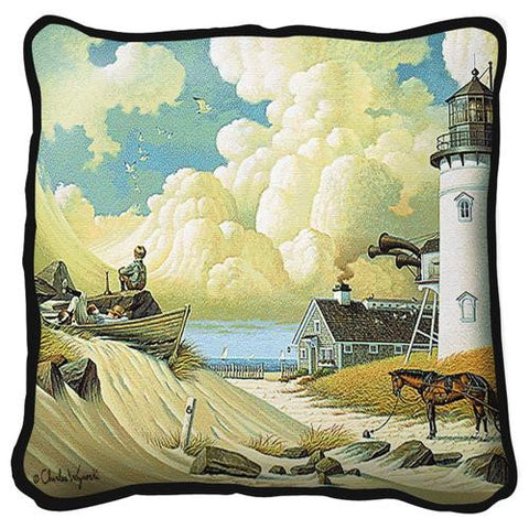 Dreamers Tapestry Pillow by Charles Wysocki©