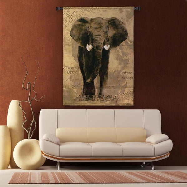 African Voyage I Wall Tapestry by Gosia Gajewska© -   - 1