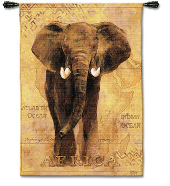 African Voyage I Wall Tapestry by Gosia Gajewska© -   - 2