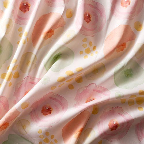 Custom Fabric By The Yard with Your Art Design - Combed Cotton Pima