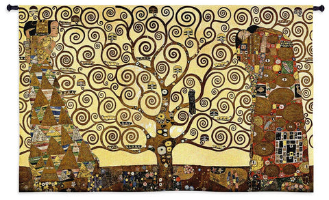 Gustav Klimt© Stoclet Frieze Wall Tapestry