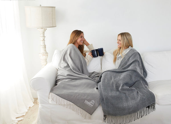 Creme Herringbone Throw Blanket|Decorating Options