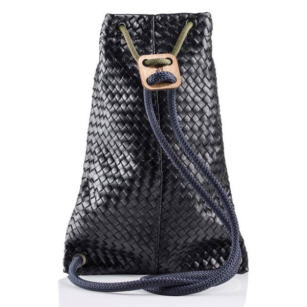 IF Backpack Black Woven - Italy