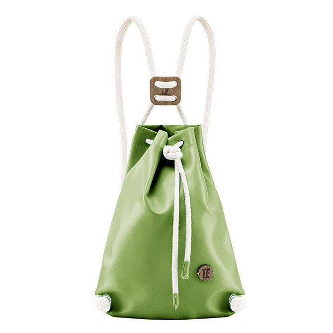 IF Backpack Green|Vegan Leather - Italy