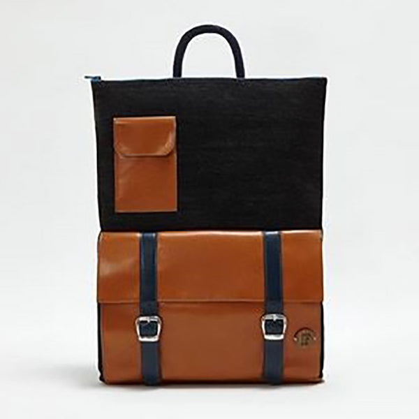 IF Backpack Black/Lt. Brown - Italy
