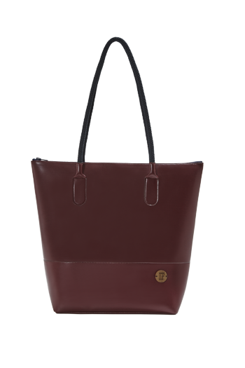 IF Tote Bag Bordeaux|Vegan Leather - Italy