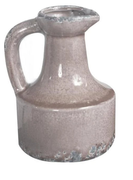 Neutral Ceramic Vessel - Short