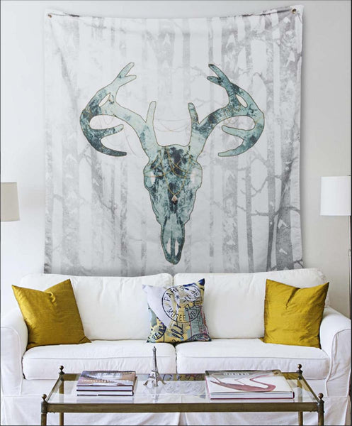 Wall Tapestry Printed with Your Art -