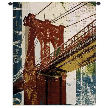 Into Manhattan Wall Tapestry - Cityscape