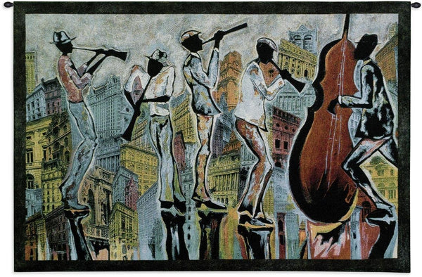 Jazz Reflections I Wall Tapestry by Corey Barksdale©