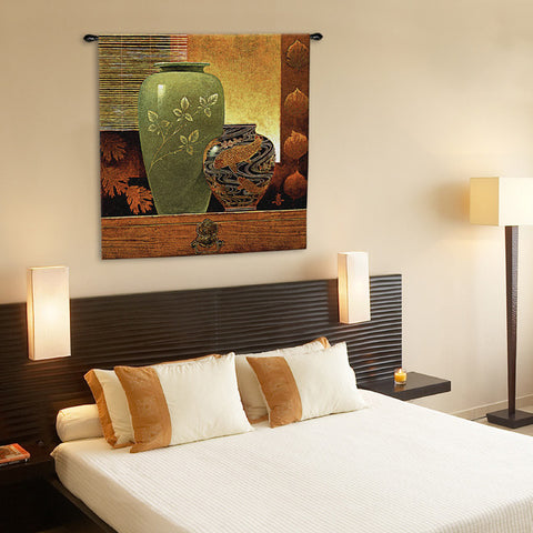 Dynasty II Asian Inspired Wall Tapestry by Keith Mallet©