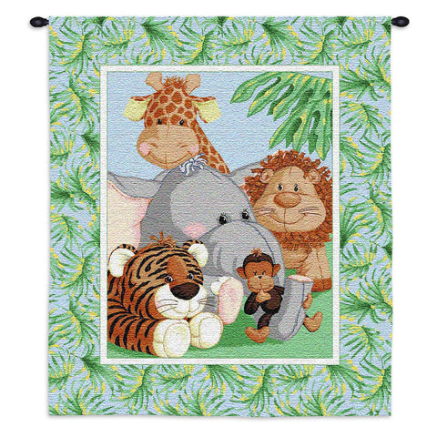 Stuffed Safari Wall Tapestry by Patti Reed©