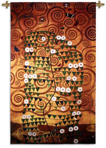 "Klimt© Stocklet Sketch Wall Tapestry - 86"" -"