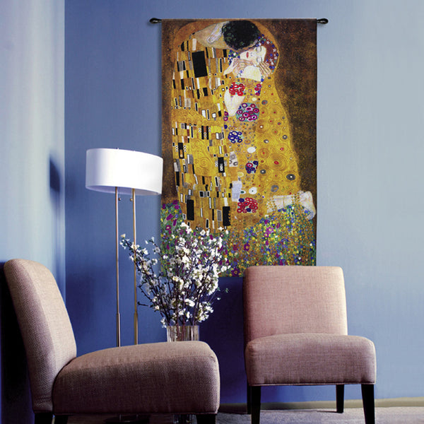 Klimt©The Kiss Wall Tapestry|2 Sizes -   - 2
