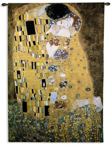 Klimt©The Kiss Wall Tapestry|2 Sizes -   - 1