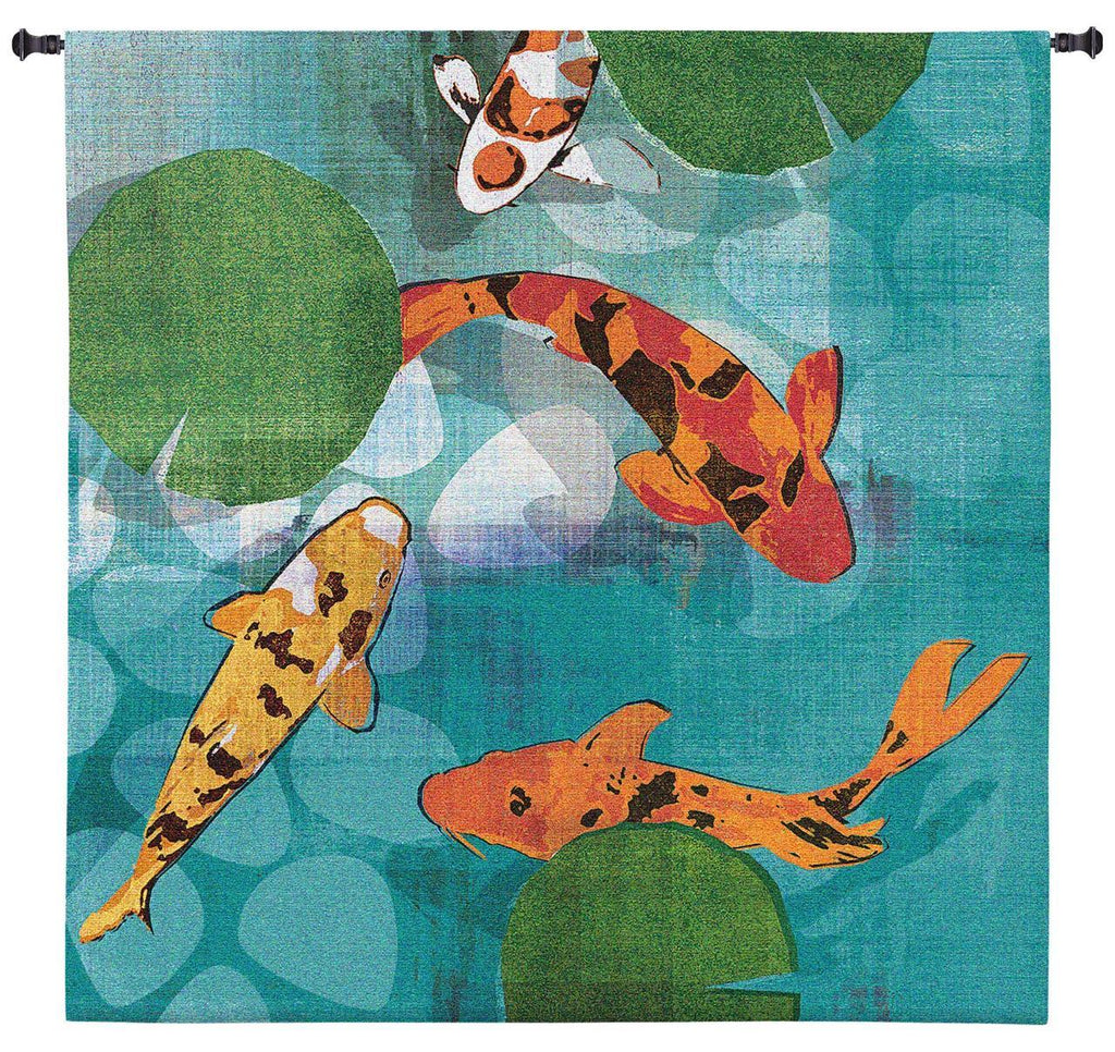 Lucky Koi Wall Tapestry by Tandi Venter© |3 Sizes
