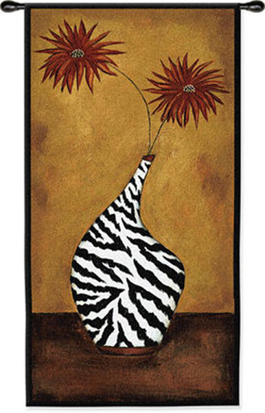 Safari Floral I Wall Tapestry by Krista Sewell©