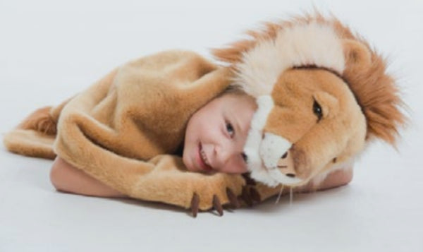 Lion Wild & Soft Animal Disguise for Kids