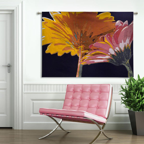 Miami Blooms Wall Tapestry by Alicia Bock©
