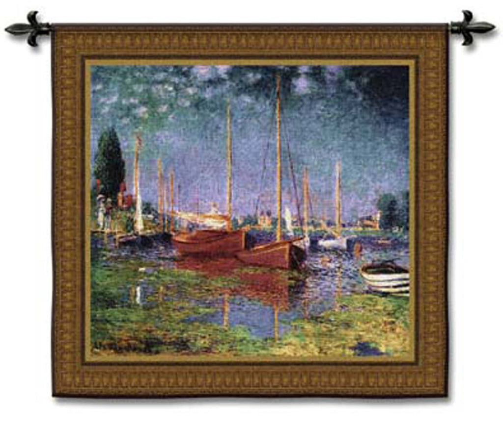 Claude Monet© Argenteuil Wall Tapestry -