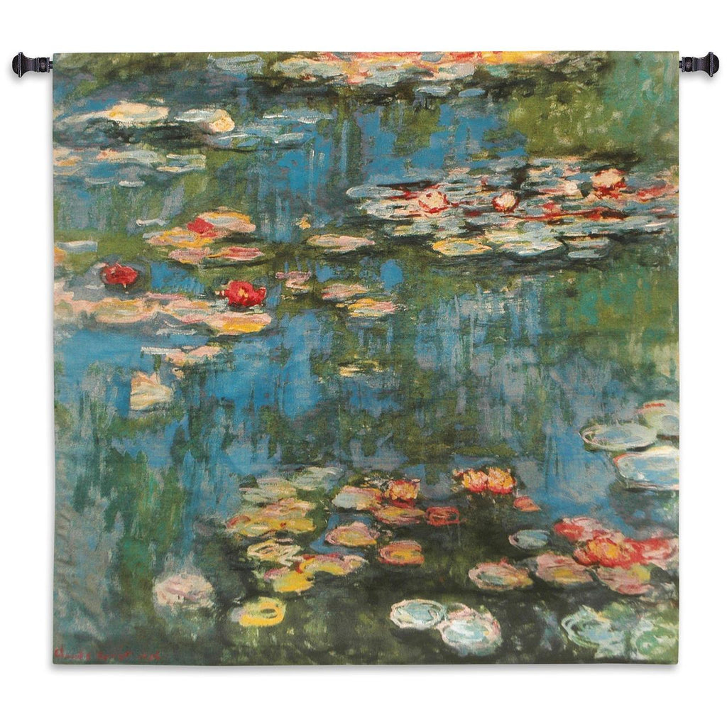 Claude Monet© Water Lilies Wall Tapestry|2 Sizes