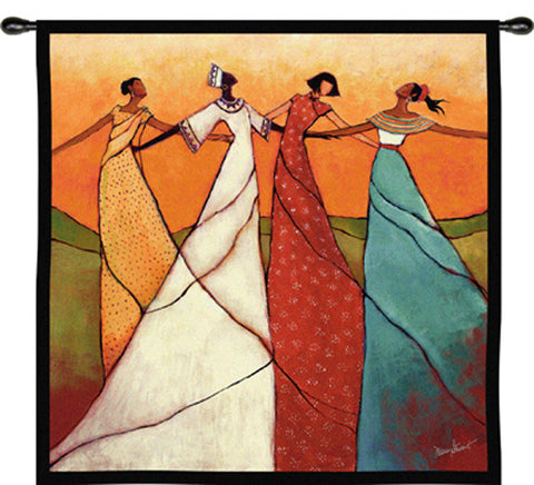 Unity Wall Tapestry by Monica Stewart© - 2 Sizes