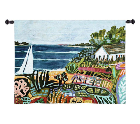 Nautical Whimsy II Wall Tapestry by Karen Fields©