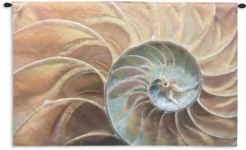 Nautilus Sand Wall Tapestry|3 Sizes