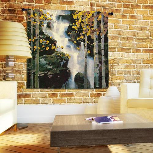Waterfall Wall Tapestry w/Boucle by Michael O'Toole© -   - 1