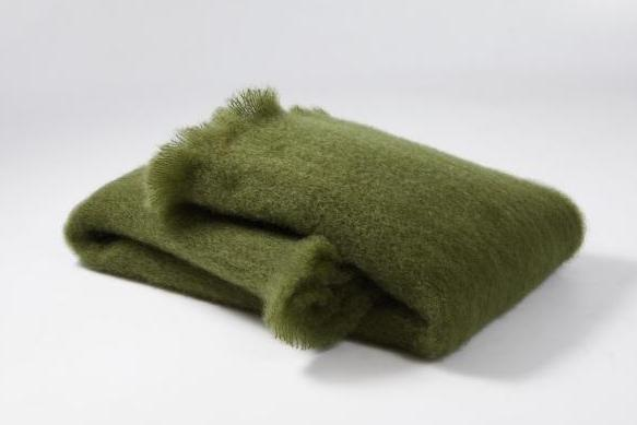 Oilive Mohair Scarf - Ezcaray, Spain