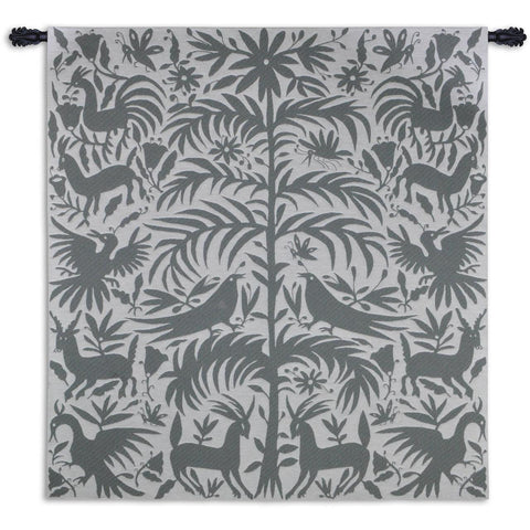 Otomi Platinum Wall Tapestry