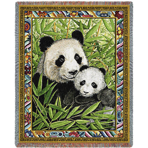 Panda Throw Blanket -