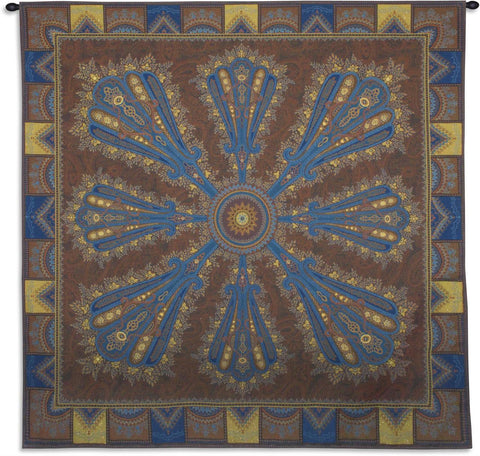 Persia Chocolate Wall Tapestry w/Lurex Fill by Bob Bergin©