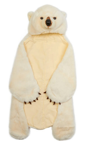 Polar Bear Wild & Soft Animal Disguise for Kids