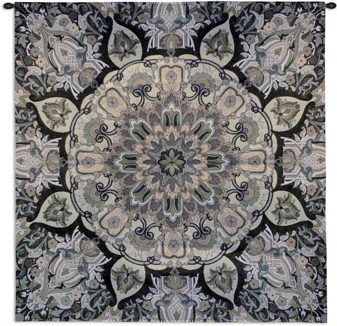 Rangoli Stone Wall Tapestry by Julianna James©