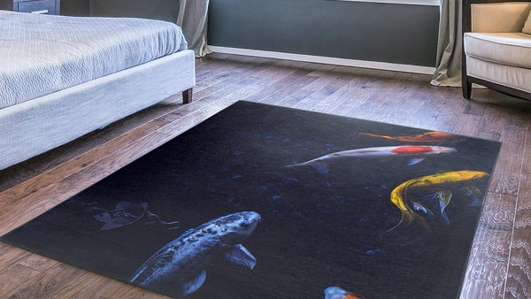 Custom Rugs w/Your Art Design|Size: 5'x7''