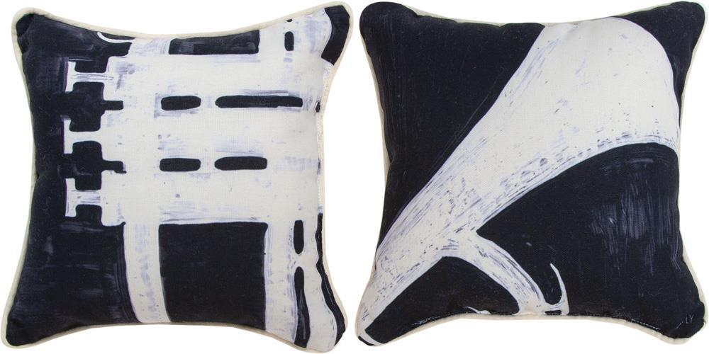 Horns & Strings Trumpet Reversible Indoor Pillow by Artly©