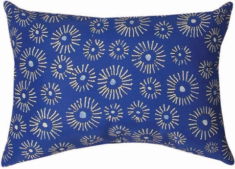 Mood Indigo Indoor Rectangle Pillow by Christine Graf©