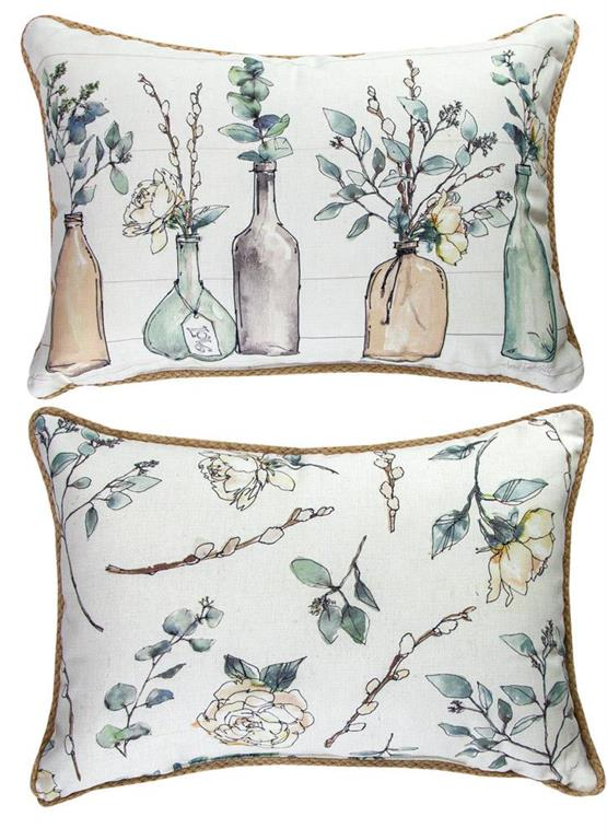 Modern Farmyard Reversible Indoor Pillow by Anne Tavoletti©