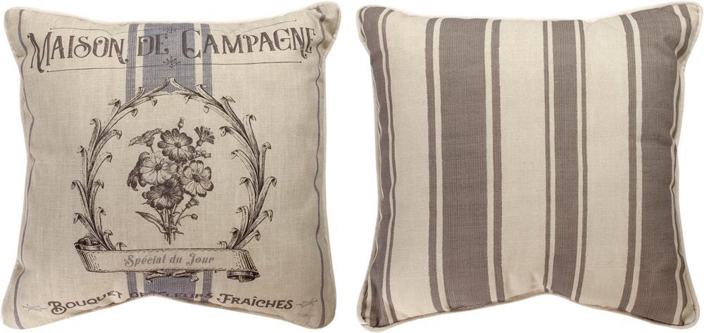 French Farmhouse Reversible Indoor Pillow