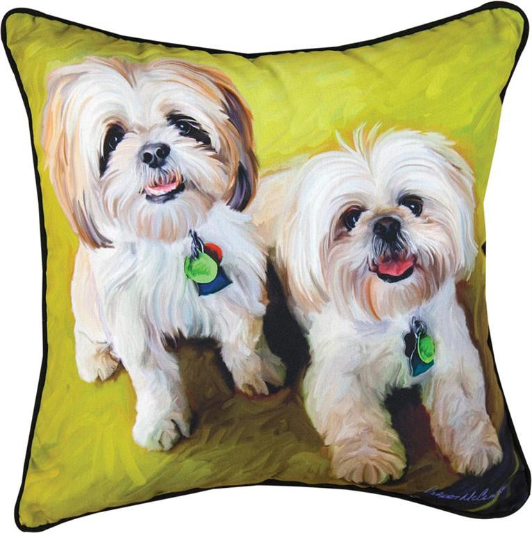 Losta Lhasa Pillow by Robert McClintock©