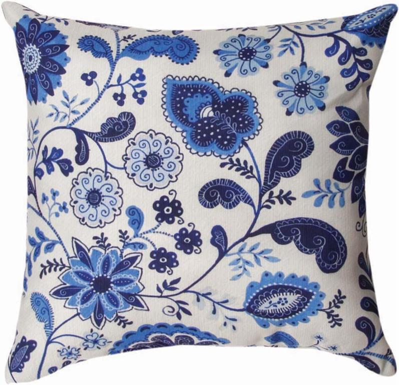 Mood Indigo Indoor Pillow by Christine Graf©