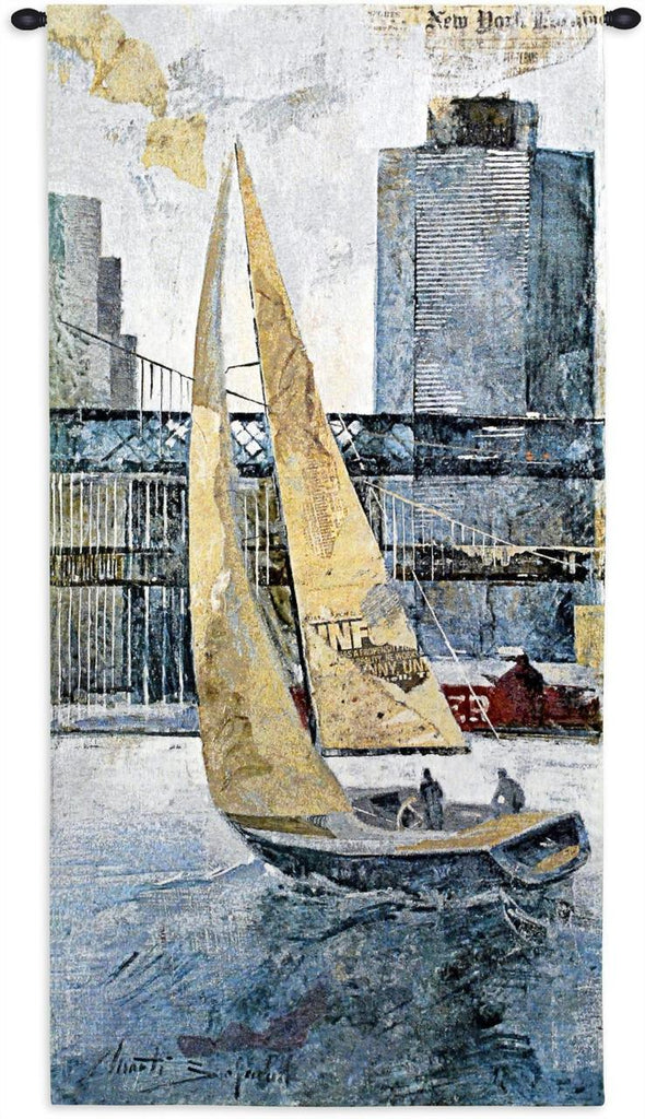 Sailing In The Afternoon Wall Tapestry by Borafull©