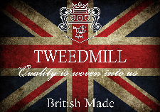Tweedmill British Made 100% Wool Blanket-Meadow Ink-Check|Wales