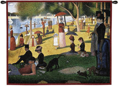 Seurat© Sunday Afternoon Wall Tapestry|2 Sizes -