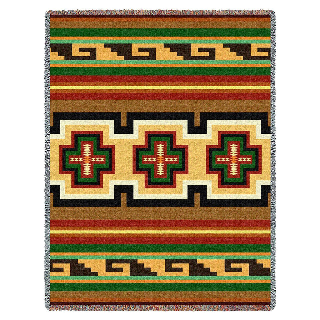 Southwest Hayat Geometric Woven Throw Blanket