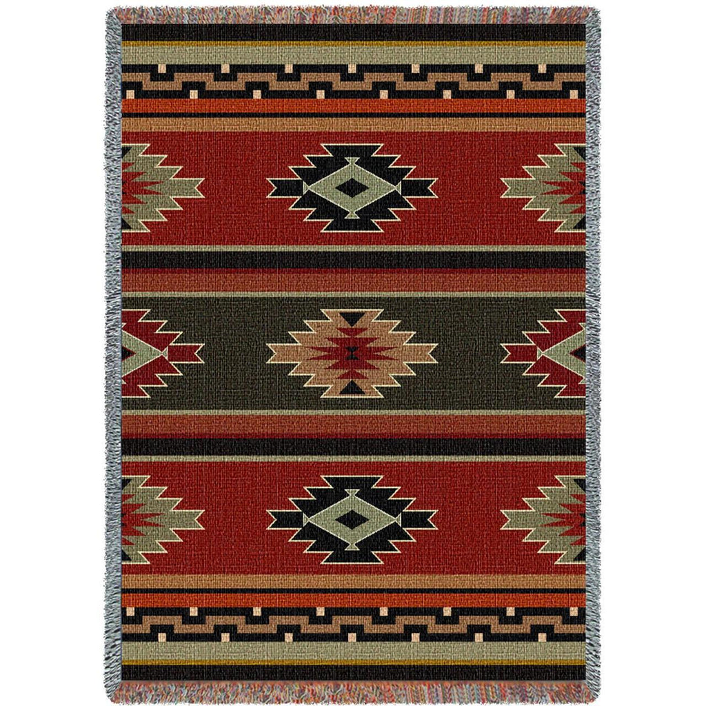 Southwest Kaibob Woven Cotton Throw Blanket